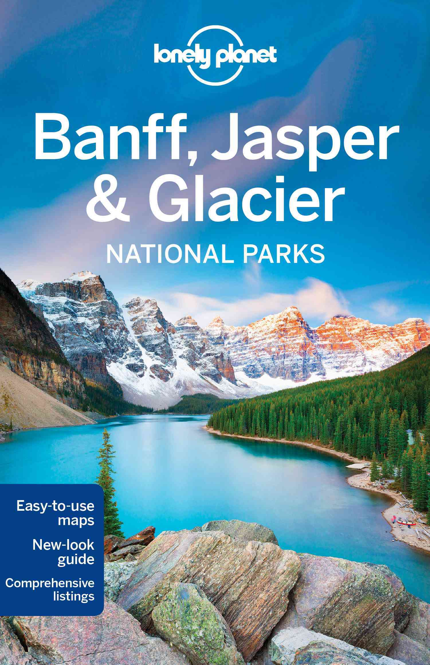 Lonely Planet Banff Jasper & Glacier NP 4.