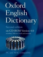 OXFORD ENGLISH DICTIONARY Second Edition on CD-ROM Version 4...