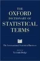THE OXFORD DICTIONARY OF STATISTICAL TERMS - DODGE, Y.