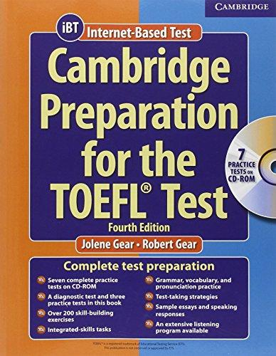 Cambridge Preparation for the TOEFL Test (Book & CD-ROM) - J...