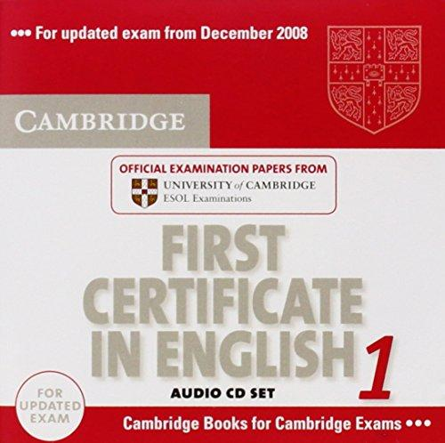 Cambridge FCE 1 for updated exam Audio CDs (2)