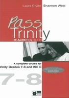 PASS TRINITY 7-8 TEACHER´S BOOK - CLYDE, L., WEST, S.