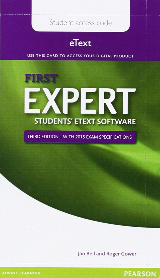 Expert First 3rd Edition eText Students Pin Card