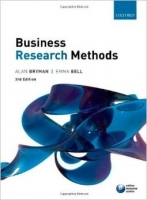 Business Research Methods 3rd Ed. - Bell E., Bryman A.
