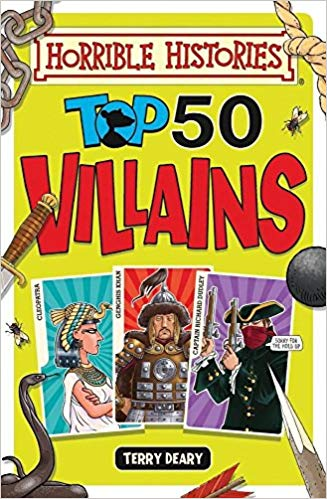 Top 50 Villains - Deary, T.