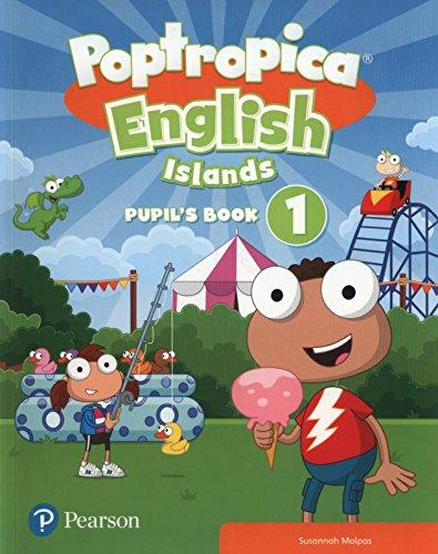 Poptropica English Islands 1 Pupil´s Book w/ Online Game Access Card - Susannah Malpas