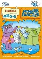 Fractions Age 5-6 (Letts Monster Practice)