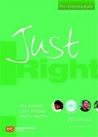 JUST RIGHT PRE-INTERMEDIATE WORKBOOK + CD - HARMER, J., LETH...