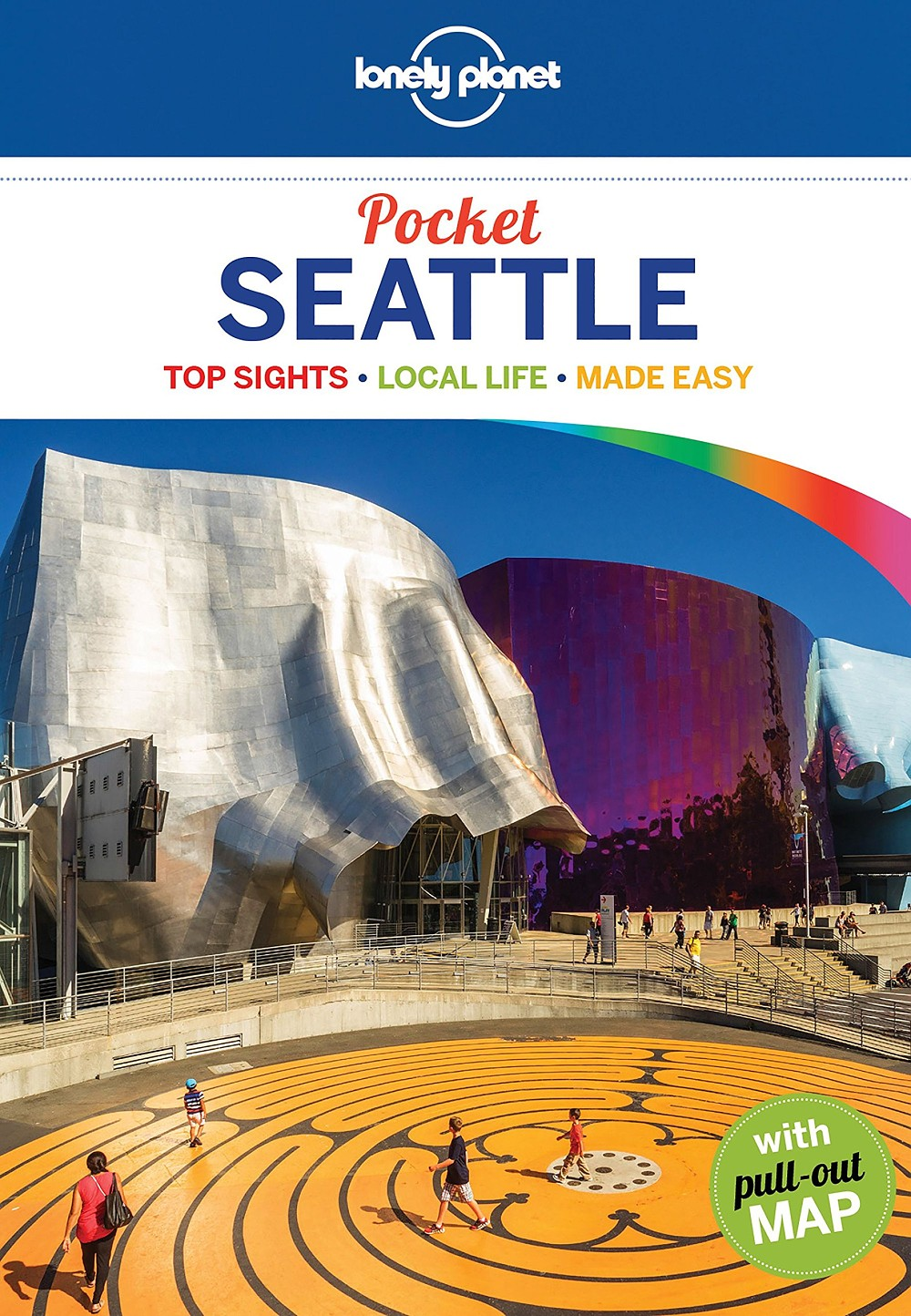 Lonely Planet Seattle Pocket guide 1.