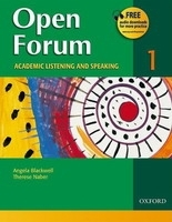 OPEN FORUM 1 STUDENT´S BOOK - BLACKWELL, A., NABER, T.
