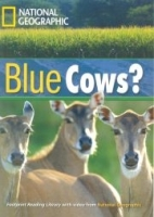 FOOTPRINT READERS LIBRARY Level 1600 - BLUE COWS? + MultiDVD...