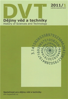 Dějiny věd a techniky 1/2011 - History of Sciences and Techn...