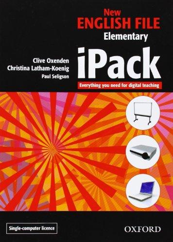 NEW ENGLISH FILE ELEMENTARY iPACK SINGLE COMPUTER - KOENIG, ...