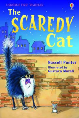 USBORNE FIRST READING LEVEL 3: THE SCAREDY CAT - PUNTER, R.