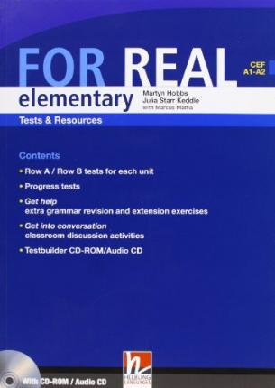 FOR REAL ELEMENTARY TESTS & RESOURCES + TESTBUILDER CD-ROM - HOBBS, M., MATTIA, M., STARR KEDDLE, J.