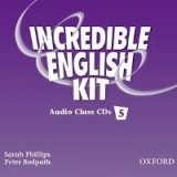 INCREDIBLE ENGLISH 5 CLASS AUDIO CDs /3/ - PHILLIPS, S., RED...
