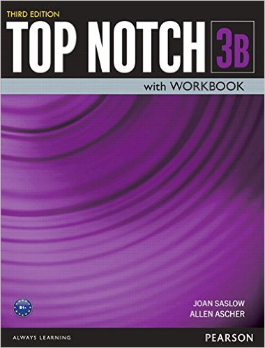 Top Notch Third Edition 3 Student Book/Workbook Split B