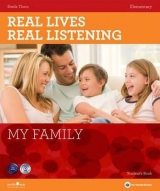 REAL LIVES, REAL LISTENING ELEMENTARY: MY FAMILY + AUDIO CD ...