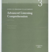 ADVANCED LISTENING COMPREHENSION Third Edition AUDIO CD - DUNKEL, P. A., PIALORSI, F.