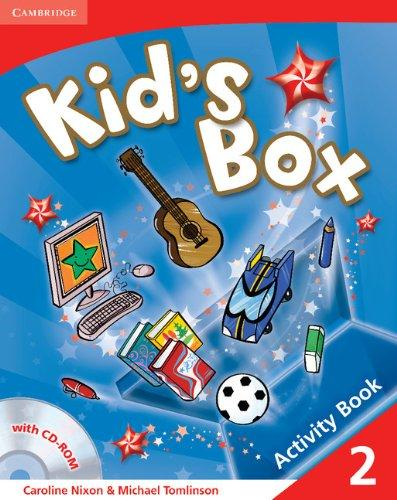 Kid's Box Level 2 Activity Book with CD-ROM - Nixon, Carolin...