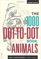 The 1000 Dot-to-Dot Book: Animals (Colouring Book) - Pavitte...