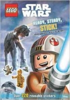 Lego Star Wars: Ready, Steady, Stick! Intergalactic Activity Book