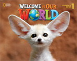 Welcome to Our World 1 Activity Book with Audio CD - J. K. O...