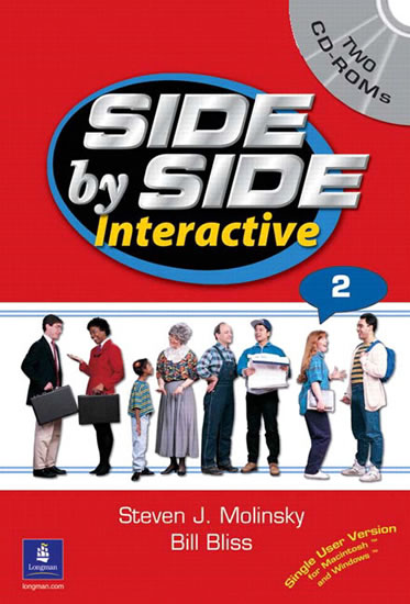 Side by Side Interactive 2, without Civics/Lifeskills (2 CD-ROMs) - Steven J. Molinsky