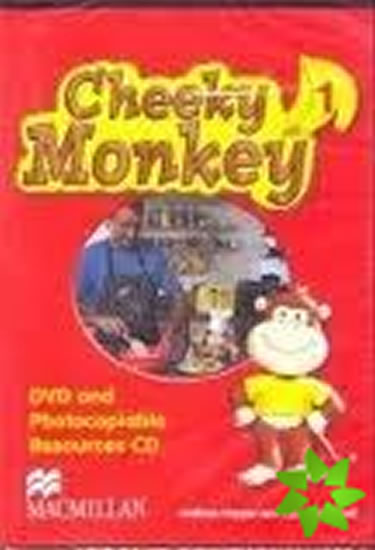 Cheeky Monkey 1: DVD & Photocopiable CD - Kathryn Harper