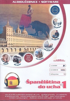 Španělština do ucha - pack 5 CD