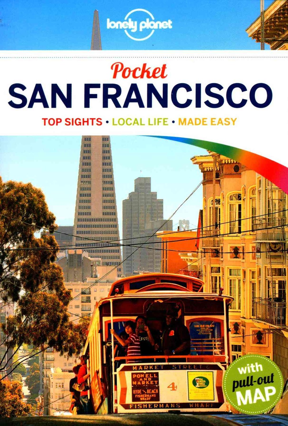 Lonely Planet San Francisco Pocket 5.