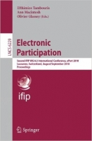 Electronic Participation: Second International Conference, e...