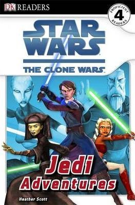 DK READER 4 STAR WARS: JEDI ADVENTURES (The Clone Wars) - SC...