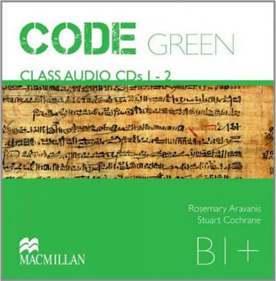 Code Green B1+: Audio CD - kolektiv autorů
