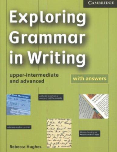 Exploring Grammar in Writing Paperback