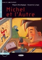 MICHEL ET L'AUTRE + CD (Black Cat Readers FRA Level 2) - BOU...