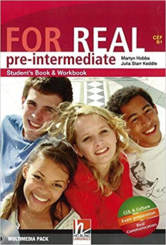 FOR REAL PRE-INTERMEDIATE STUDENT´S PACK (Starter + Student´s Book / Workbook + Links + CD-ROM + CD) - HOBBS, M., STARR KEDDLE, J.