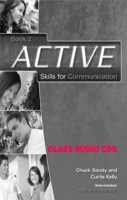 ACTIVE SKILLS FOR COMMUNICATION 2 CLASS AUDIO CDs /2/ - SANDY, Ch., KELLY, C., ANDERSON, N. J.
