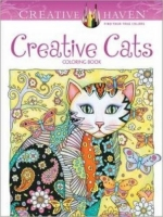 Creative Haven Creative Cats Coloring Book (Colouring Book) ...