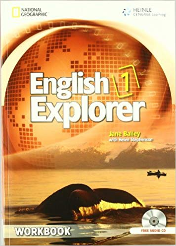 ENGLISH EXPLORER 1 WORKBOOK + WORKBOOK AUDIO CD - BAILEY, J....