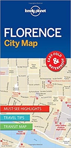 Lonely Planet Florence City Map 1.