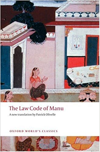 THE LAW CODE OF MANU (Oxford World´s Classics New Edition) -...