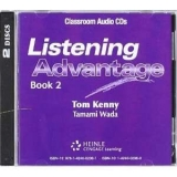 LISTENING ADVANTAGE 2 CLASS AUDIO CDs /2/ - KENNY, T., WADA,...