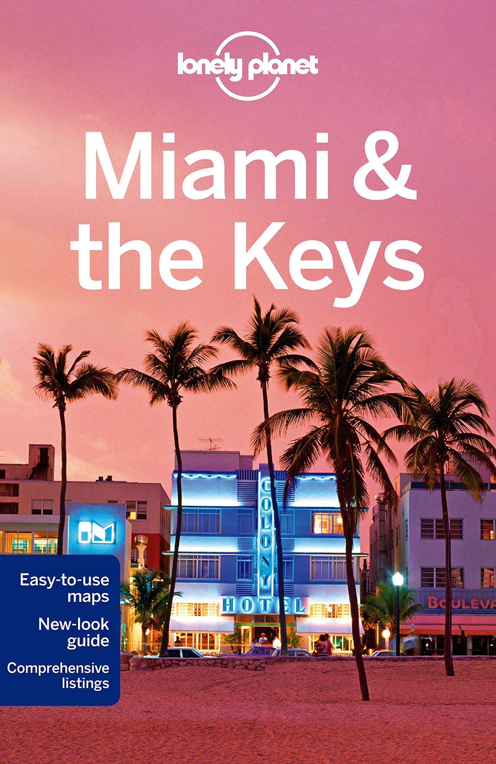 Lonely Planet Miami the Keys 7.