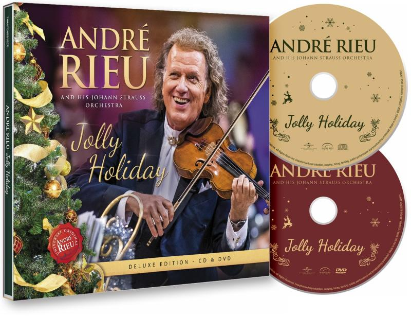 André Rieu: Jolly Holiday - Deluxe edition CD + DVD - André Rieu