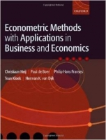 Econometric Methods With Applications in Business & economic...
