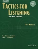 BASIC TACTICS FOR LISTENING Second Edition TEST BOOKLET WITH...
