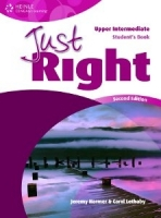 JUST RIGHT Second Edition UPPER INTERMEDIATE STUDENT´S BOOK ...