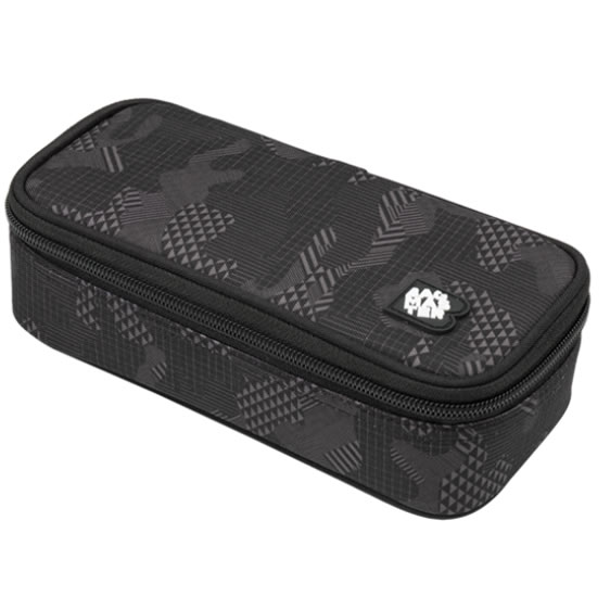 Bagmaster Studentský penál CASE DIGITAL 9 F DARK GRAY/BLACK