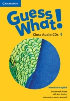 Guess What! American English Level 4 Class Audio CDs (2)